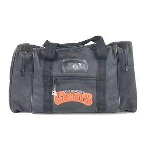 Vtg 90s San Francisco Giants Duffle Travel Bag